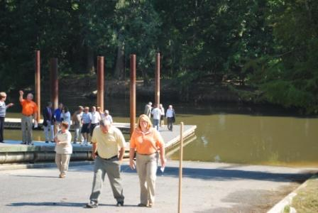 People Walking on Dock 3
