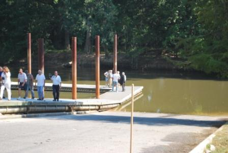 People Walking on Dock 4