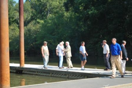 People Walking on Dock