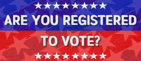 Are you registered to vote