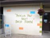 Rescue Your Next Best Friend Patio Wall