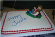 Happy Trails Cake