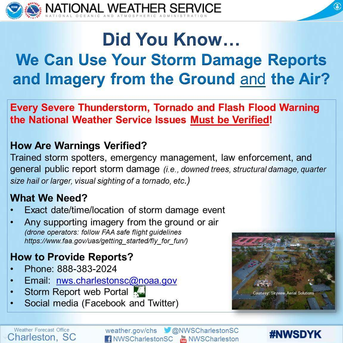 National Weather Service Storm Reports