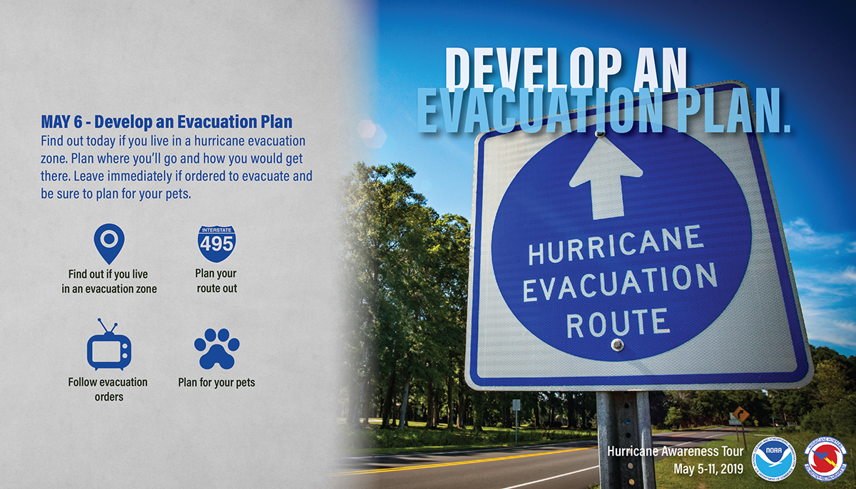 May 6: Know Your Evacuation Plan