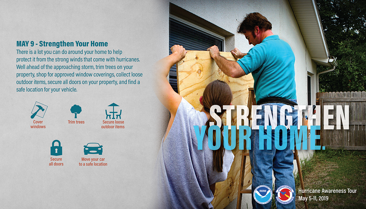 May 9: Strengthen Your Home